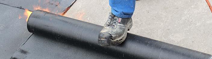 bitumen dakbedekking leggen